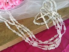Crystal wedding lasso/ Lazo De Boda/ Wedding Lazo/silver Plated