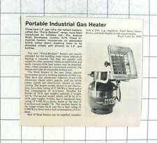 1965 Portable Industrial Gas Heater Infradex Ltd Southgate