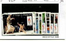 Saint Thomas 1993 Scott 1152-1159 8 Stamp Set Cancelled 3248M