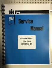 684 International Harvester Tractor Technical Service Shop Repair Manual