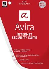 Avira Internet Security 2018 - 1 Device - 1 Year - Key Code Same Day USA-AIS2018