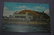 CONVENTION HALL ATLANTIC CITY, NJ POSTCARD 1950