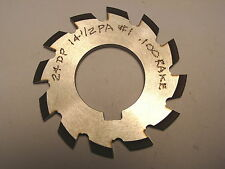 "NOS Decovich Inc. CAN 2-1/4"" Dia. Involute Gear Cutter 24 DP 14-1/2 PA #1"