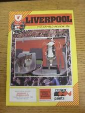 30/11/1982 Liverpool v Norwich City [Football League Cup] . Item in very good co