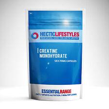 120 X 750mg 100% pur monohydrate de créatine gélules de trépidante Sports