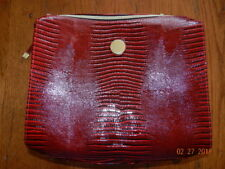 NEW Estee Lauder Red Holiday Blockbuster 2017 BAG cosmetic case ONLY