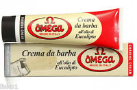 Omega Shaving Soap with Eucalyptus Oil in Tube, Made in Italy - #45001  3.52 OZ.