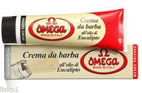 Omega Shaving Soap with Eucalyptus Oil in Tube, Made in Italy - #45001  3.52 OZ.
