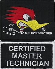 CERTIFIED MASTER TECHNICIAN SEW/IRON ON PATCH DODGE CHEVY FORD