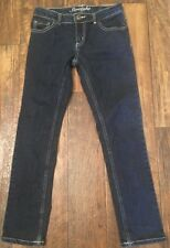 Crazy 8 Girls Straight Jeans Dark, Size 8 Super Cute!