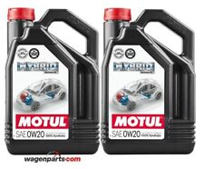 Aceite motores Hibridos gasolina Motul Hybrid 0w20 Toyota pack 8 litros