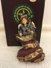 Boyds Bear & Friends Folkstone Collection Ornament Mercy Nightshift In Box