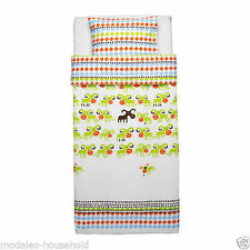 >Ikea Kossan Colourful Child's Single Quilt Cover & pillowcase + PRIZE CHANCE!