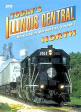 Today's Illinois Central North Vol 1 DVD Pentrex IC Chicago to Fulton UP Conrail