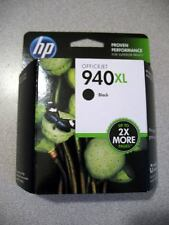 NEW HP #940 XL 940XL Black Ink Cartridge C4906AN Genuine!