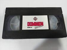 DOMINION TANK POLICE ACTOS 1 & 2 - VHS TAPE CINTA ANIME MANGA SIN CAJA