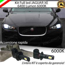 KIT FULL LED JAGUAR XE LAMPADE LED H7 6000K BIANCO GHIACCIO 100% NO ERRORE