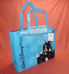 NEW Walt Disney World Resort Parks  Reusable Shopper Tote Bag CINDERELLA CASTLE