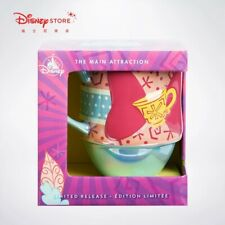 Disney Minnie mouse the main attraction mad tea party mug cup march limited