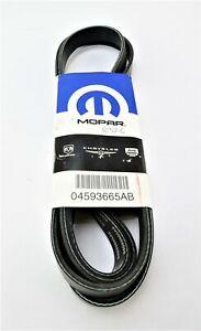 New Genuine OEM 4593665AB 4593665-AB Chrysler Serpentine Belt Fast Free Shipping