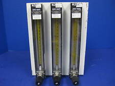 Brooks Sho-Rate 3 Flowmeter Assy w/ 3 Furon Delta Solenoid Valves, DV2-124NOD2
