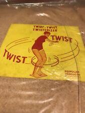 Retro 1960's Twist Twist Twisterizer- Vintage Game / Exercise Equipment NOS