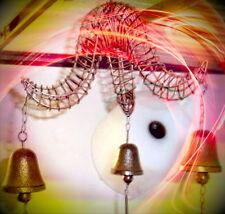 Wandglocken Glockenspiel 3 kleine Tür Glocken aus Gescher klingen gut Eisenguss