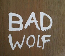 Doctor Who Bad Wolf  Vinyl window car truck sticker decal funny   JDM