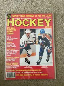 FM7-43 1982-83 Hockey Scene Magazine Wayne Gretzky Oilers