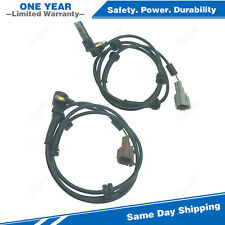 2PCS Rear Left & Right ABS Wheel Speed Sensor For 2004-2011 Nissan Titan 5.6L