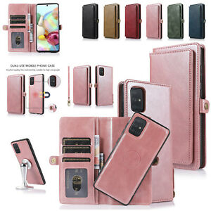 Leather Wallet Card Case Cover For Samsung Galaxy A51 A71 A70 A50 A30 A20 A10