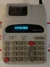 Casio FR-510 Electronic Printing Calculator 10 Digit Tested