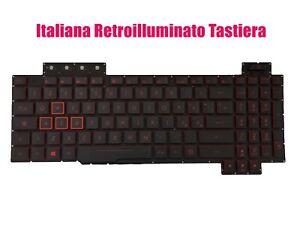 Italiana Retroilluminato Tastiera per Asus FX705G/FX705GM/FX705GE/FX705GD