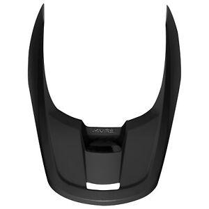 Fox Racing Youth V1 Helmet Replacement Visor Matte Black Motorcross Offroad
