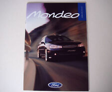 Ford . Mondeo . Ford Mondeo . October 1998 Sales Brochure