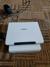 """Portable DVD Player Phillips PET724 7"""" White  Car Widescreen Movies Media"""