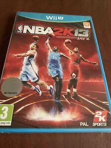 Nintendo Wii U - game - NBA 2K13 BASKETBALL