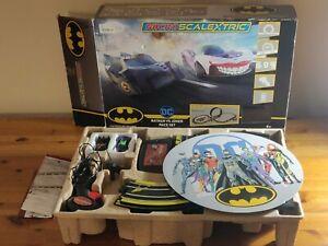 Scalextric Batman vs Joker race set.  Spark plug wireless set. comp