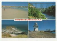Northern Hawkes Bay New Zealand 6x 4 inch Multiview Postcard US144