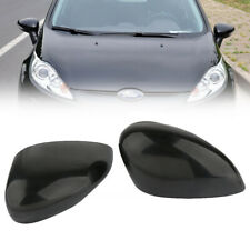 1 Pair L & R Passenger Side Wing Door Mirror Cover For Ford Fiesta MK7 2008-2017