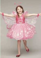 Chasing Fireflies Wishcraft Girl's Size 16 Pink Butterfly Costume Dress Headband