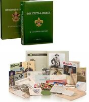 Boy Scout Of America A Centennial History Collector Book w DVD Poster Eagle Gift