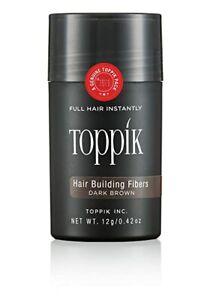 Toppik Hair Building Fibers - Dark Brown 12 Grams