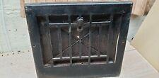 Antique metal floor grate wall grate heating vent register