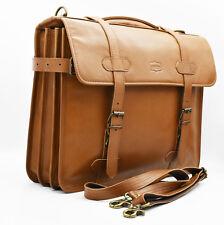Mens Leather Briefcase Classic Satchel Office Business Laptop Bag * Londonwear