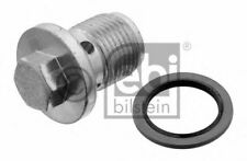 Oil Sump Plug Inc Washer Screw 31119 by Febi Bilstein Genuine OE - Single