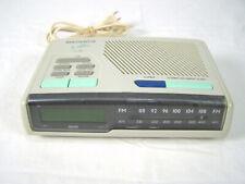 Magnavox AM FM Clock Radio The Nightline AJ 3280 2 Alarm Tuning Radio