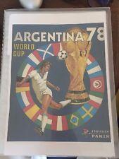 Album Panini Argentina 1978 78 figurine stickers effettuo mancolista wishlist