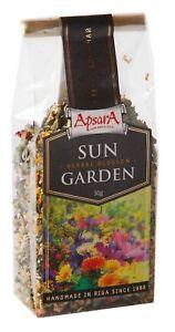 "Green Tea Sun Herbal Blossom Garden "" Apsara "" Latvia 30 gr Excellent Product"