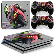 Motor Bike - PS4 Pro Protective Skin Stickers Console & 2 Controllers - 0827